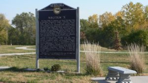 Malcolm X house marker Omaha