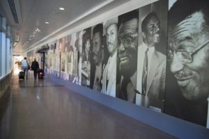 Birmingham Shuttlesworth airport civil rights exhibit