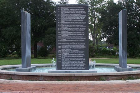 The Albany Civil Rights Memorial is only a few blocks from the museum. Photo:VisitAlbanyGa.com
