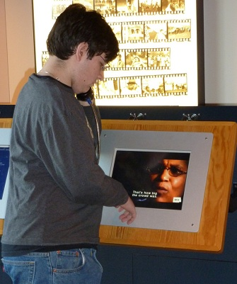 The Lowndes County Interpretive Center includes interactive audio exhibits.