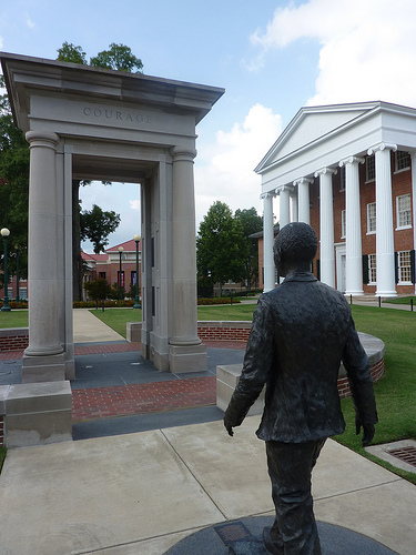 James Meredith will forever march into history on the Ole Miss campus.