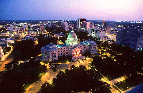 The Help is set in Mississippi's state capital, Jackson.