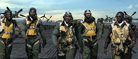 The movie Red Tails chronicles the wartime glory of the famed Tuskegee Airmen.